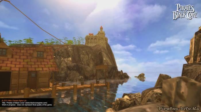Скриншоты игры Pirates of Black Cove