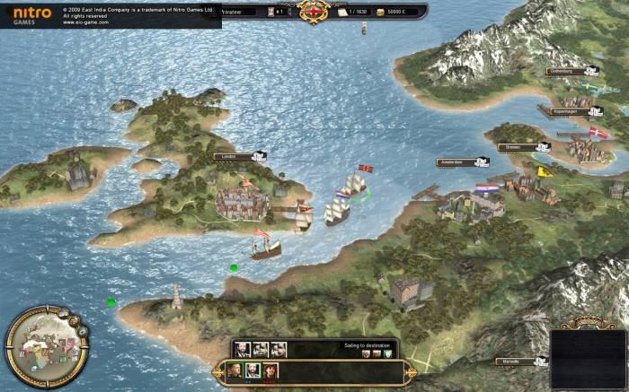 Скриншот дополнения East India Company-Privateer