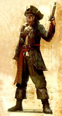 Пират в Risen 2